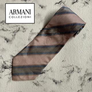 ARMANI COLLEZIONI - ⚫️【美品】ARMANI COLLEZIONI アルマーニコレツォーニ ネクタイ