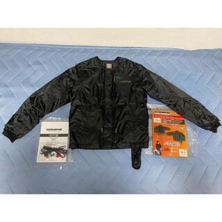 【ほぼ新品】コミネ 電熱ジャケット ブラック WMサイズ 付属品完備