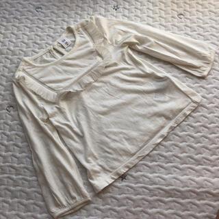ベビーギャップ(babyGAP)の新品未使用 ベビーギャップ   ロンT ホワイト 100(Tシャツ/カットソー)