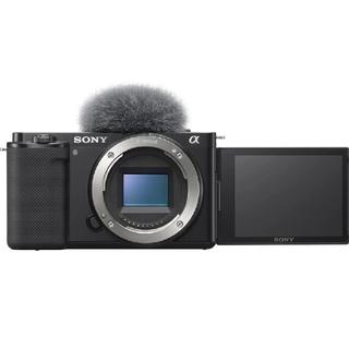 SONY - ソニー レンズ交換式 VLOGCAM ZV-E10 B ボディ ブラック