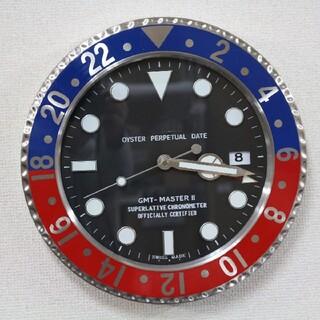 マルチカラー★YouTuber愛用 壁掛け時計 時計 GMT 風 腕時計 オメガ