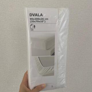 IKEA - ikea シーツベッドカバーDVALAドゥバーラシングルシーツ