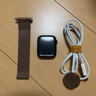 Apple Watch - Apple Watch series5 チタニウム ケース ミラネーゼループ