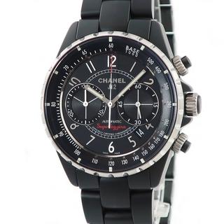 シャネル(CHANEL)のシャネル  J12 スーパーレッジェーラ H3409 自動巻き メンズ(腕時計(アナログ))