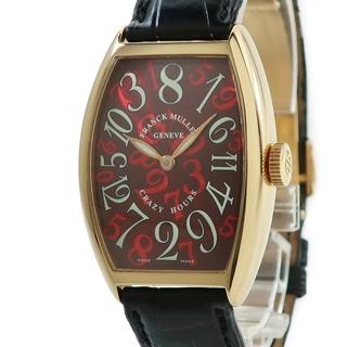 フランクミュラー(FRANCK MULLER)のフランクミュラー  トノウカーベックス クレイジーアワーズ 5850CH(腕時計(アナログ))
