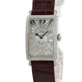 フランクミュラー(FRANCK MULLER)のフランクミュラー  ロングアイランド レリーフ 902QZDCD1R ク(腕時計)