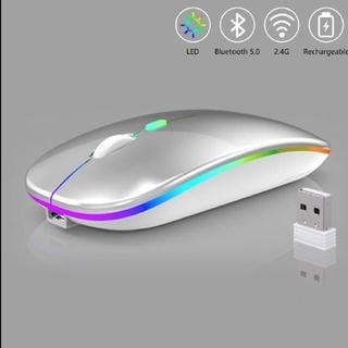 充電器式のLEDマウス 無線 Bluetooth W接続 パッケージ版