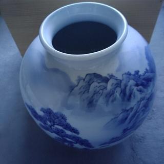 砥部焼 南光窯 花瓶(陶芸)