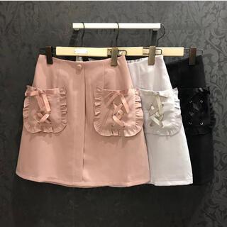 ロジータ(ROJITA)のポケットスピンドル台形ミニSK (ミニスカート)