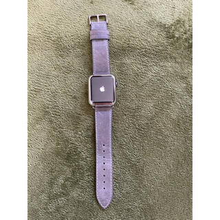 Apple Watch - Apple Watch3 38mm スペースグレー