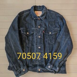 Levi's - 【色落ち少】Levi's 70507 4159 デニムジャケット ブラックL