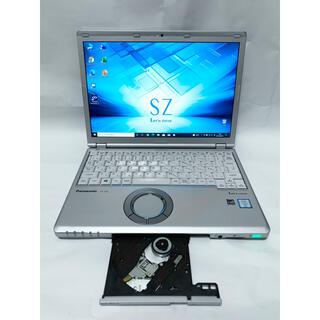 レノボ(Lenovo)のレッツノート CF-SZ5 i5 8GB SSD Office DVDマルチ(ノートPC)