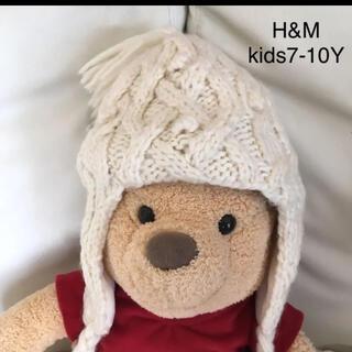 エイチアンドエム(H&M)のキッズ 7-10Y    ニット帽(帽子)