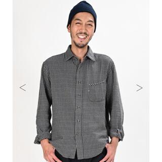 フォーティファイブアール(45R)の45R インドうすネルのレギュラーシャツ サイズ2(シャツ)