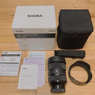 SIGMA - SIGMA (シグマ) 24-70mm F2.8 DG DN Art