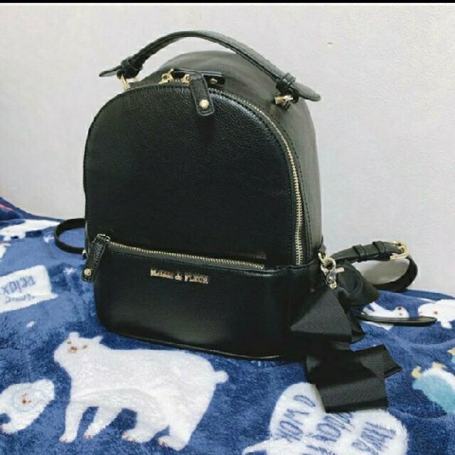 Maison de FLEUR(メゾンドフルール)の9/25まで値下げ!メゾンドフルール リュック レディースのバッグ(リュック/バックパック)の商品写真