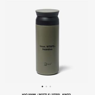 W)taps - WTAPS H2O 500ML / BOTTLE / STEEL. KINTO