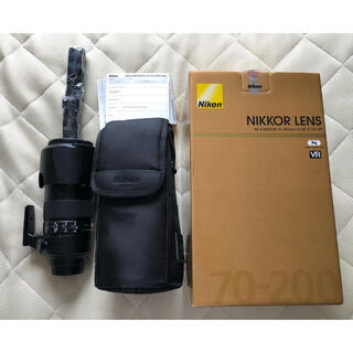 Nikon - 新品同様AF-S NIKKOR 70-200mm f/2.8E FL ED VR