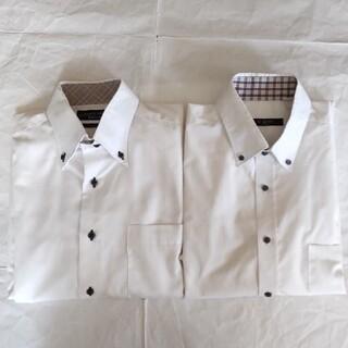 HIROMICHI NAKANO - L  長袖カッターシャツ  ワイシャツ  2枚セット