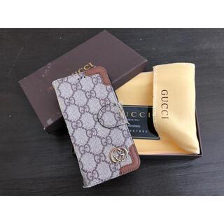 グッチ(Gucci)のGUCCI iPhoneX手帳型ケース 箱付き(iPhoneケース)