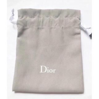 Dior - Dior  ディオール  巾着 2枚 白 グレー
