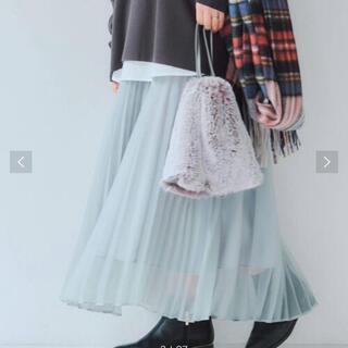 ユナイテッドアローズ(UNITED ARROWS)のユナイテッドアローズ プリーツスカート(ロングスカート)