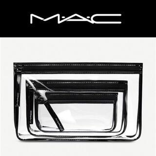 MAC - MAC トリプル クリアポーチ