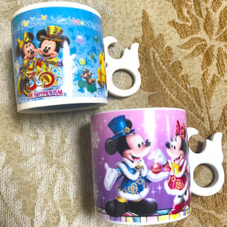 ディズニー(Disney)の限定《ディズニー 》30周年 アニバーサリー ペア マグカップ スーベニア(グラス/カップ)