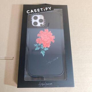 ヨウジヤマモト(Yohji Yamamoto)のCASETiFY×Yohji Yamamoto iPhone12/12pro新品(iPhoneケース)