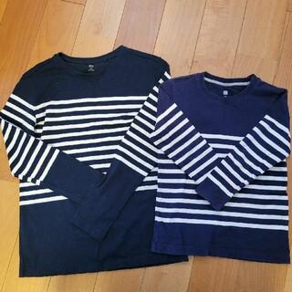 ユニクロ(UNIQLO)のユニクロロンティお揃いコーデ(Tシャツ/カットソー)