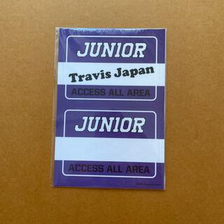 ジャニーズジュニア(ジャニーズJr.)のTravis Japan ステッカー(アイドルグッズ)