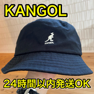 KANGOL - カンゴール バケットハット WASHED KANGOL