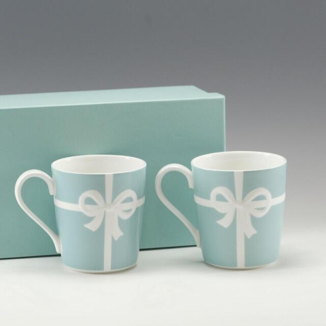 Tiffany & Co.(ティファニー)のティファニーマグカップ インテリア/住まい/日用品のキッチン/食器(グラス/カップ)の商品写真