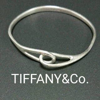Tiffany & Co. - 中古 ティファニー ダブルループバングル