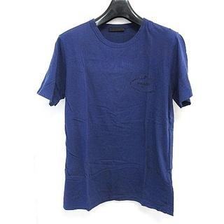 PRADA - プラダ PRADA Tシャツ 半袖 刺繍ロゴ プリント 2015年 ブルー S
