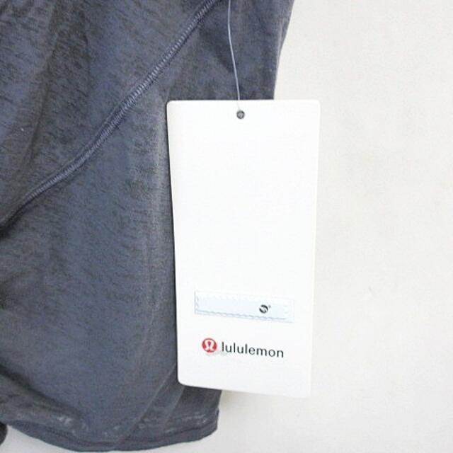 lululemon(ルルレモン)のルルレモン ツイスト タンクトップ トレーニングウェア グレー 4 レディースのトップス(タンクトップ)の商品写真