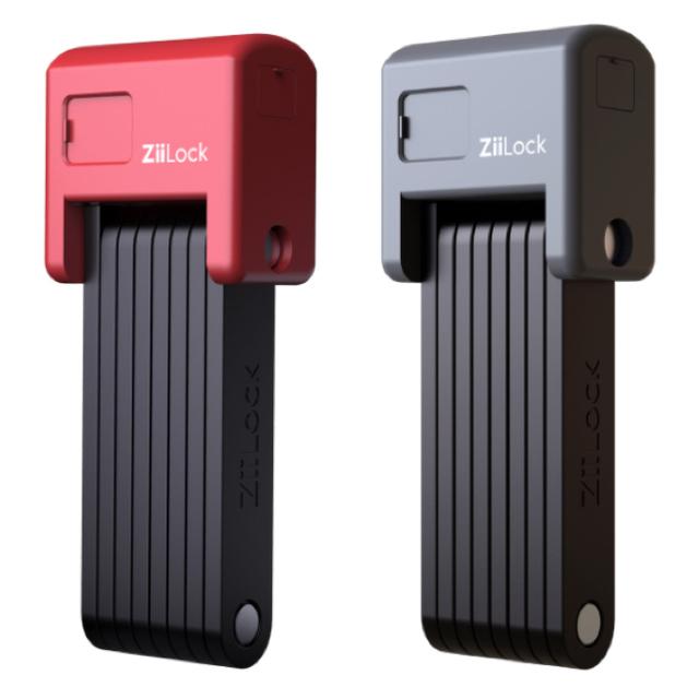 Ziilock 指紋認証チェーンロック バイク 自転車 鍵 防犯 自動車/バイクの自動車(セキュリティ)の商品写真