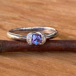 PT900 タンザナイトダイヤモンドリング