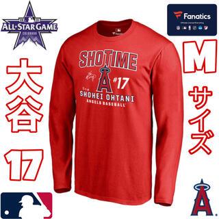 MLB・大谷翔平・LAエンジェルス・SHOTIME・長袖T-シャツ・Mサイズ