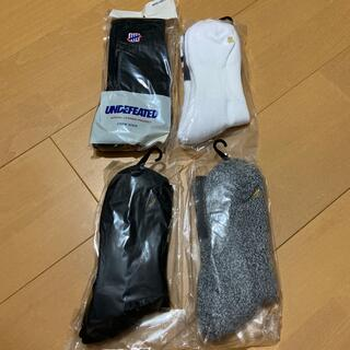 UNDEFEATED - UNDEFEATED socks 4点セット