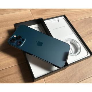 Apple - 最安 新品 iPhone 12 Pro Max 128GB SIMフリー ブルー