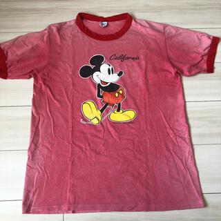 ミッキーマウス(ミッキーマウス)のミッキー  Tシャツ ヴィンテージ  90s(Tシャツ/カットソー(半袖/袖なし))