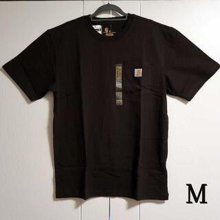 カーハート(carhartt)のCarhartt ダークブラウン Tシャツ/M(Tシャツ/カットソー(半袖/袖なし))