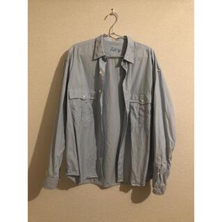 PORTER - 18ss porter classic ロールアップシャツ M ストライプ