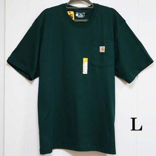カーハート(carhartt)のCarhartt Tシャツ グリーン/L(Tシャツ/カットソー(半袖/袖なし))