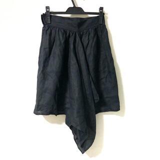 フェンディ(FENDI)のフェンディ スカート サイズ42 M - 黒(その他)