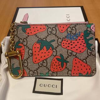 Gucci - Gucci キーケース いちご