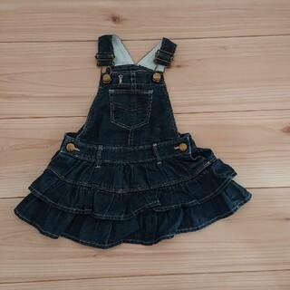 ベビーギャップ(babyGAP)のBaby GAP サロペットスカート(スカート)