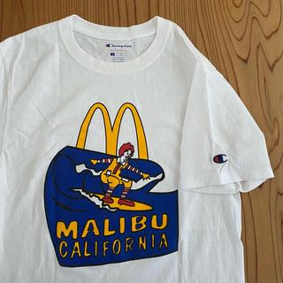 チャンピオン(Champion)のチャンピオン×マクドナルド 着丈67cm(Tシャツ/カットソー(半袖/袖なし))