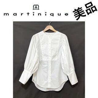 Drawer - 美品マルティニーク ボリュームブラウス 綿シャツ martinique yori